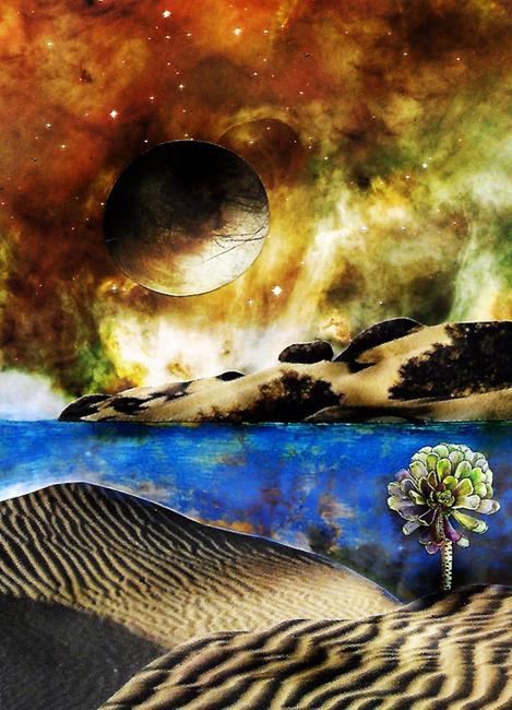 Art: Where My Peace Lies by Artist Vicky Helms