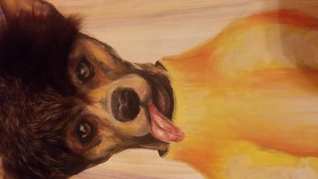 Art: Pet Painting #1-C by Artist KikaD