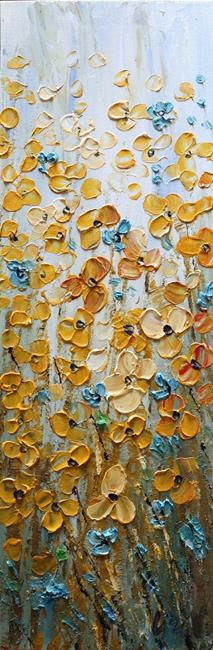 Art: Prairie Wildflowers BLOSSOM by Artist LUIZA VIZOLI