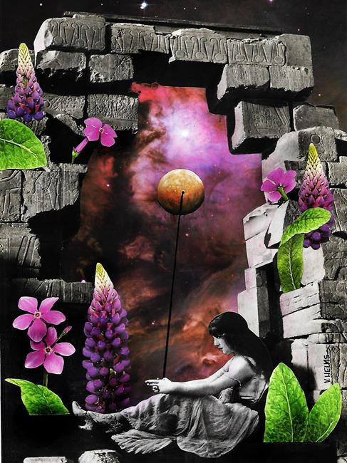 Art: Emotional Landscapes - Reflections by Artist Vicky Helms