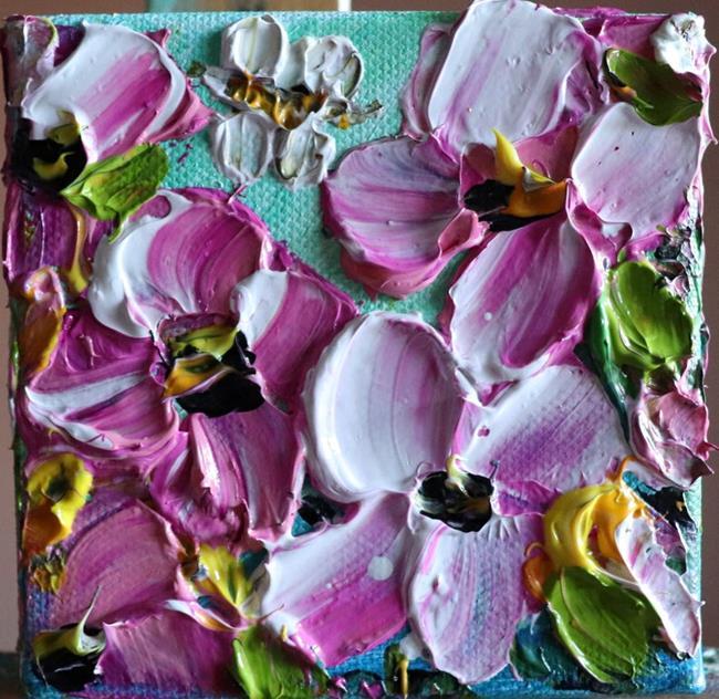 Art: PINK WHITE PETUNIAS by Artist LUIZA VIZOLI