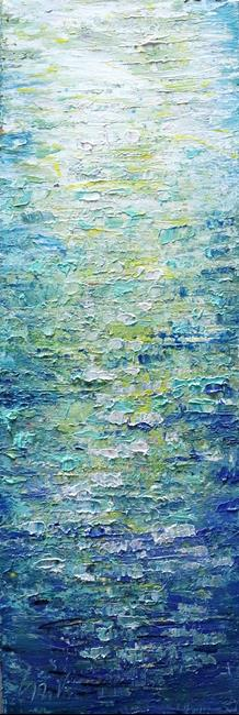 Art: FRESH WATER by Artist LUIZA VIZOLI