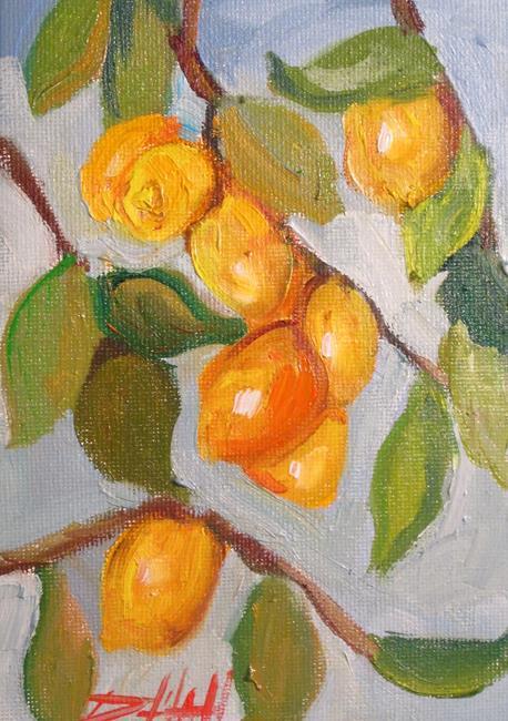 Art: Lemon Tree No. 6 by Artist Delilah Smith