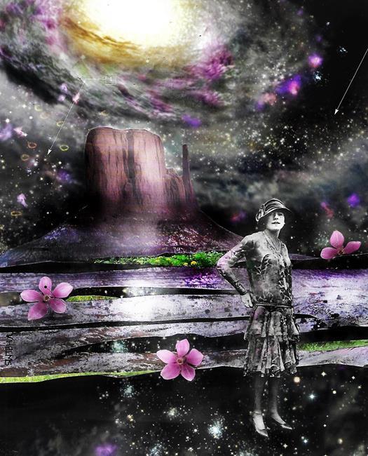 Art: The Stargazer by Artist Vicky Helms