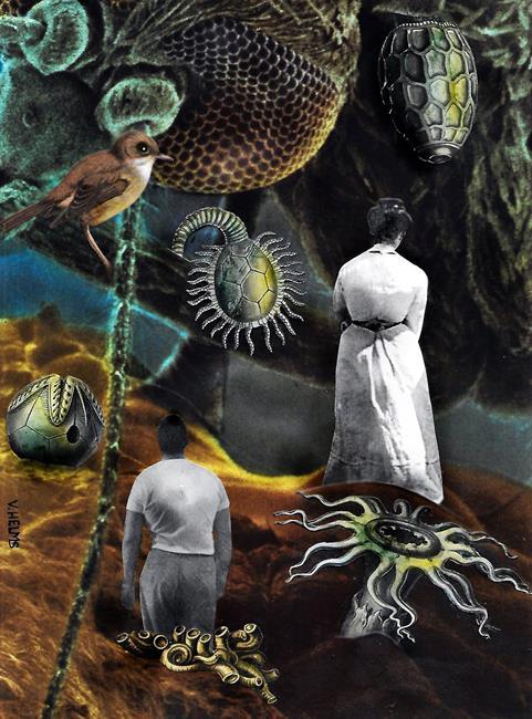 Art: On the Inside by Artist Vicky Helms