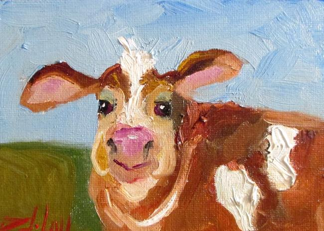 Art: Cow No. 26 by Artist Delilah Smith