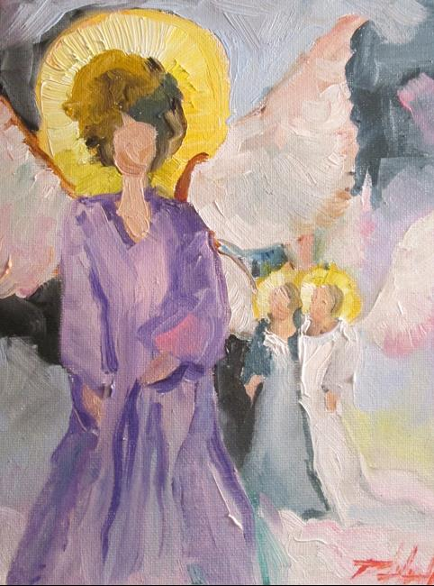 Art: Angels No. 29 by Artist Delilah Smith
