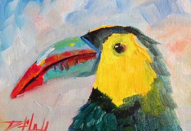 Art: Toucan Bird by Artist Delilah Smith