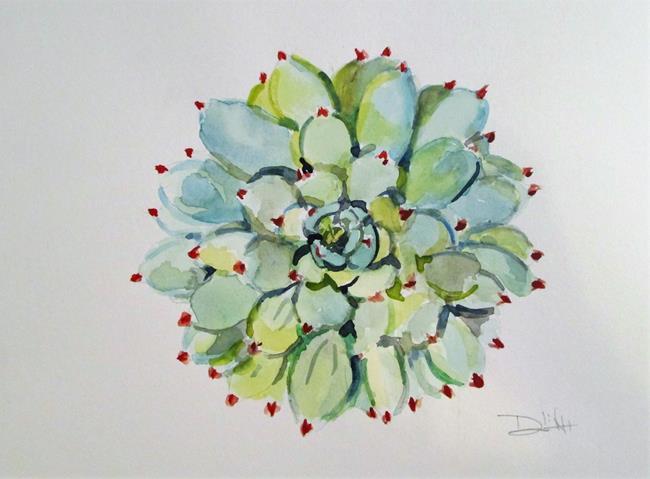 Art: Succulent, Cactus by Artist Delilah Smith