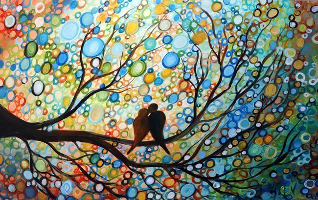 Art: Happy Moments by Artist LUIZA VIZOLI