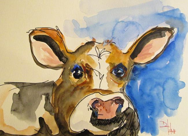 Art: Cow No. 27 by Artist Delilah Smith