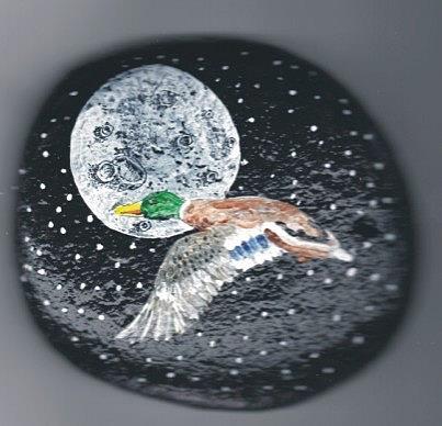 Art: Mallard painting by Leonared G. Collins by Artist Leonard G. Collins