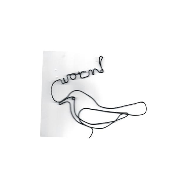 Art: Wire art worm by Leonard G. Collins by Artist Leonard G. Collins