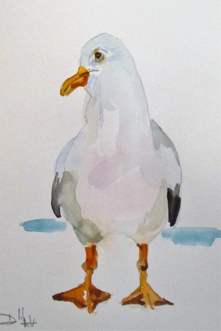 Art: Seagull No. 10 by Artist Delilah Smith
