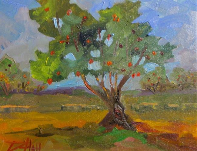 Art: Apple Tree by Artist Delilah Smith