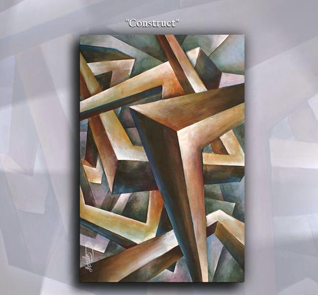 Art: construct by Artist Michael A Lang