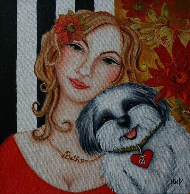 Art: Noctavious by Artist Deb Harvey
