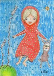Art: Make New Friends by Artist Sherry Key