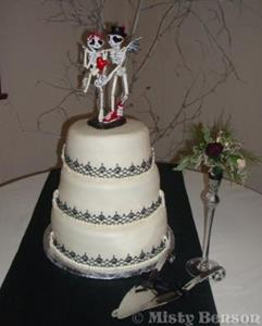 Detail Image for art Skelly Cake Topper