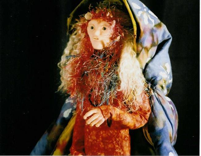 Art: The Sea Fairy (Sold) by Artist Kimberly Vanlandingham