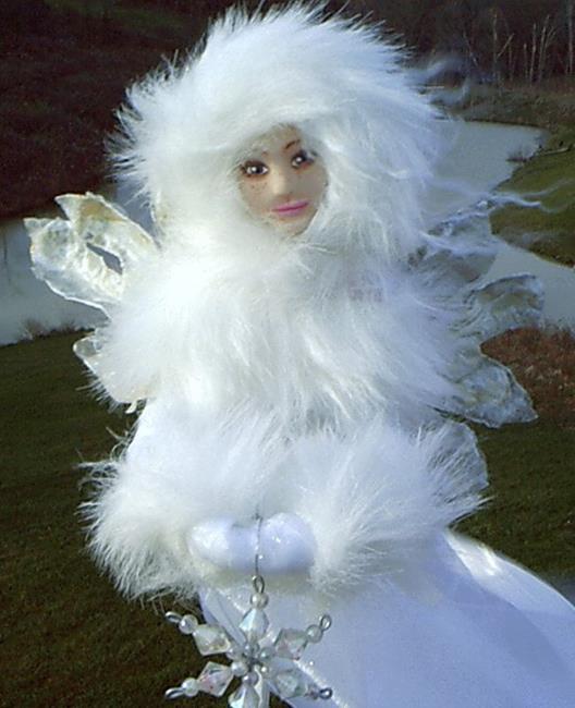Art: The Snow Queen (Sold) by Artist Kimberly Vanlandingham