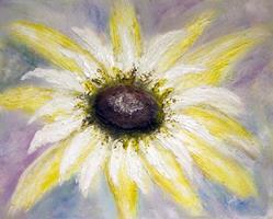Art: Just A Daisy by Artist Toneeke Runinwater - Henderson