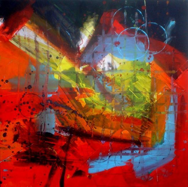 Art: Secret Meeting by Artist Lisa Thornton Whittaker