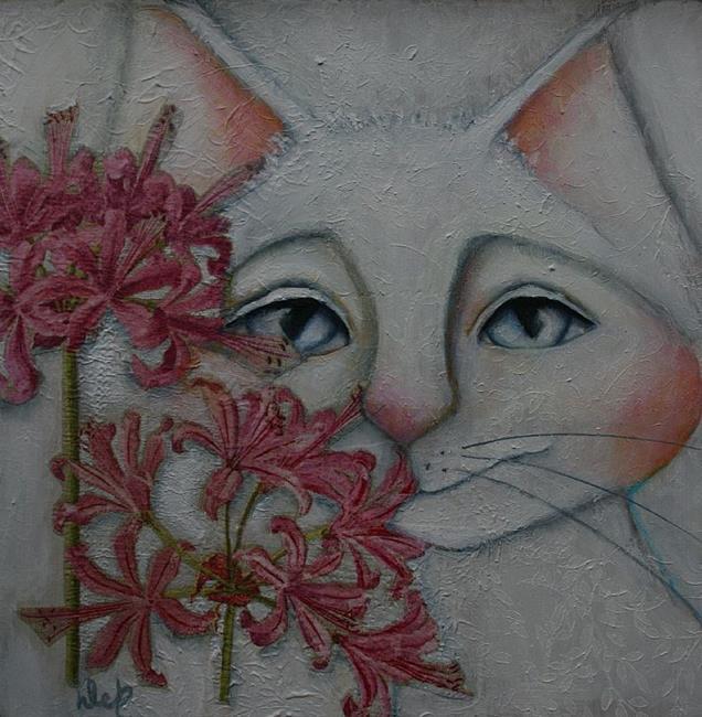 Art: Clairce by Artist Deb Harvey