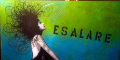 Art: Esalare (It.) - Exhale by Artist Dawn Williams