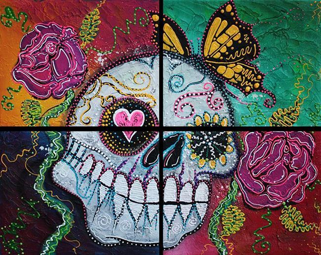 Art: Mariposa - A Spirit Returns by Artist Laura Barbosa