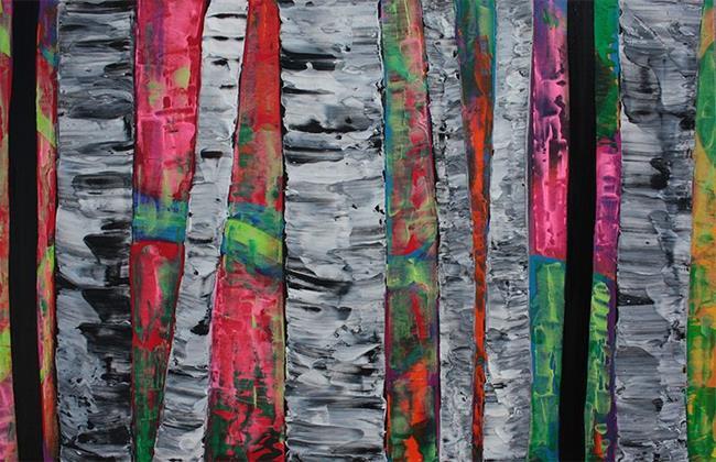 Art: The Hidden Forest by Artist Laura Barbosa