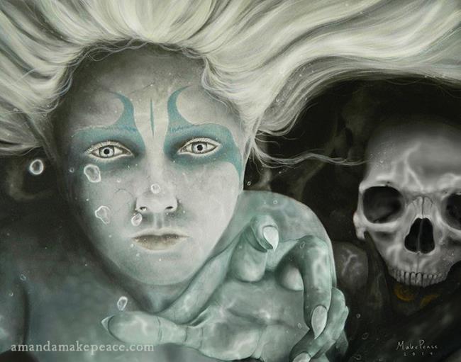 Art: Her Domain II by Artist Amanda Makepeace