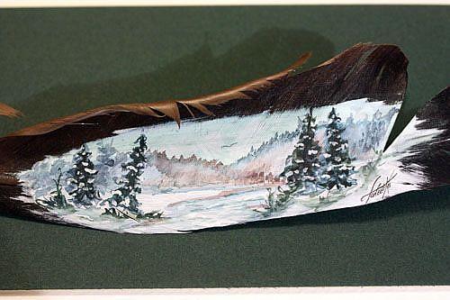 Art: The Winds Of Winter by Artist Toneeke Runinwater - Henderson