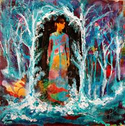 Art: Winters Dance by Artist Toneeke Runinwater - Henderson