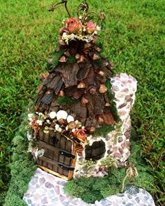 Detail Image for art FAIRY HOUSE