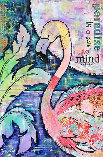 Art: Paradise Is... by Artist Melanie Douthit