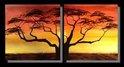 Art: The Gift of a Sunset by Artist Melanie Pruitt