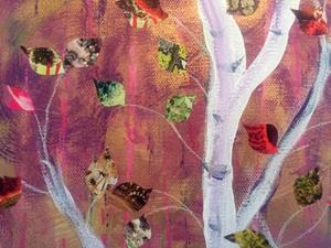Detail Image for art Aspen Trees
