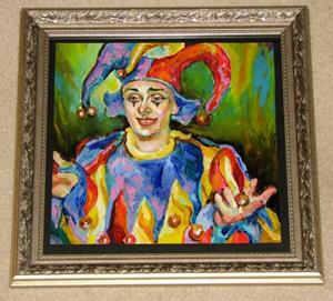Detail Image for art Portrait of the Clown