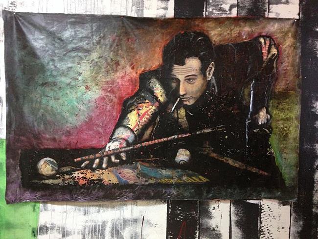 Art: The Hustler by Artist Jenny Berry