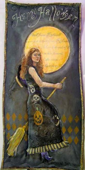 Art: The Witch From Rodmell by Artist Catherine Darling Hostetter