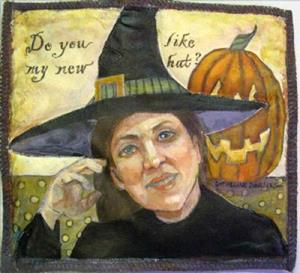 Detail Image for art The Witch From Rodmell
