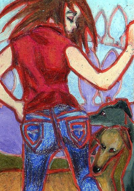 Art: Shall we Dance? by Artist Judith A Brody