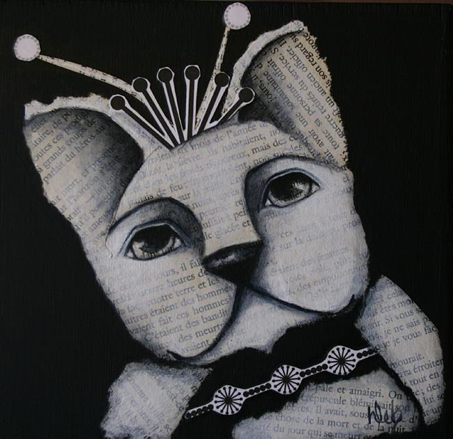 Art: Frenchie by Artist Deb Harvey