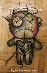 Art: Voodoo doll by Artist Jordana
