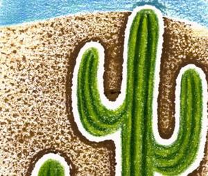 Detail Image for art Glowing Cacti