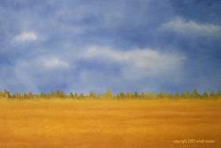 Art: CUT WHEAT by Artist Windi Rosson