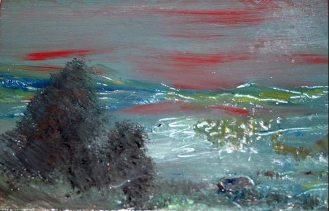 Art: THE SEA by Artist LUIZA VIZOLI