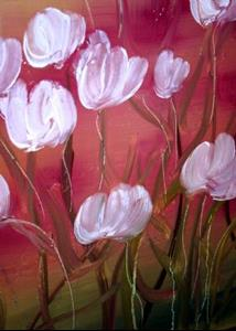 Detail Image for art TULIPS IN THE SUNSET