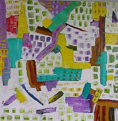 Art: GREED (SOLD) by Artist Dawn Hough Sebaugh